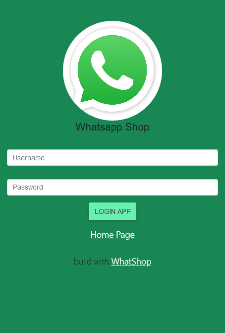 aplikasi toko online whatsapp order shop