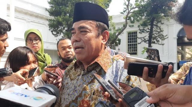 Menag Ogah Komentari soal Politikus PDIP Sebar Meme Jokowi Bertemu Yesus