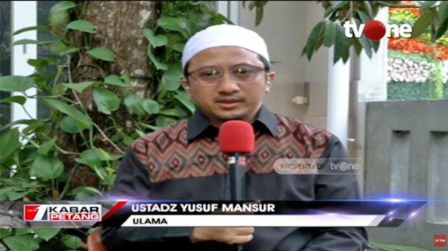 Postingannya soal Uighur Banyak Dikritik, Yusuf Mansur: Saya Minta Maap, Saya Belum ke Sana