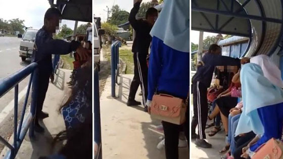 Video Viral! Pria Malaysia Tampar Wanita Indonesia Karena Tidak Pakai Jilbab