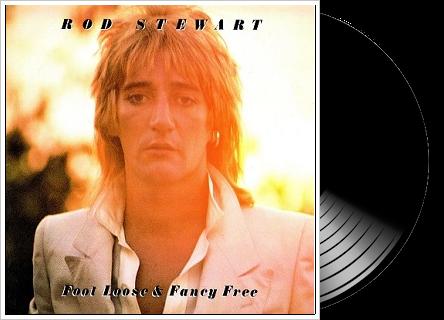 Rod Stewart Foot Loose Amp Fancy Free Lp Albums On Vinyl