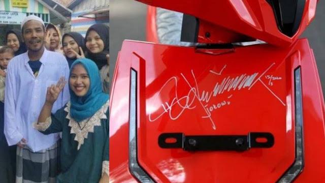 Kabur Kepada Polisi, Inilah Cerita Nuh Pemenang Lelang Motor Jokowi Rp 2,5 M