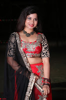 Sirisha Dasari in Red Ghagra Backless Choli ~  006.JPG