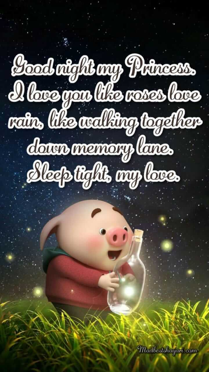 GoodNight With Quotes Images