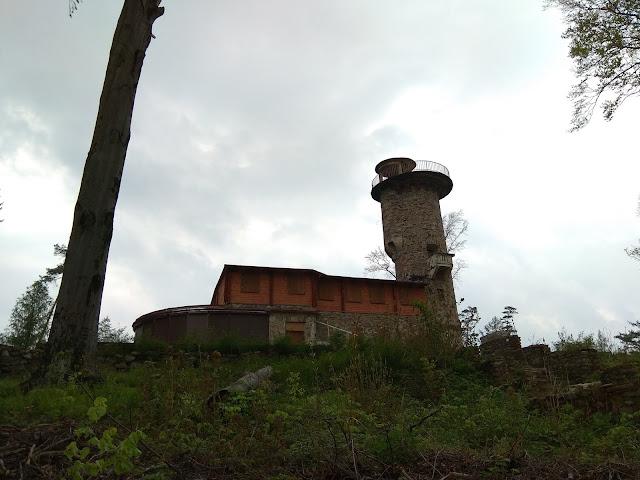 Głuchołazy - przednia kopa, wieża widokowa