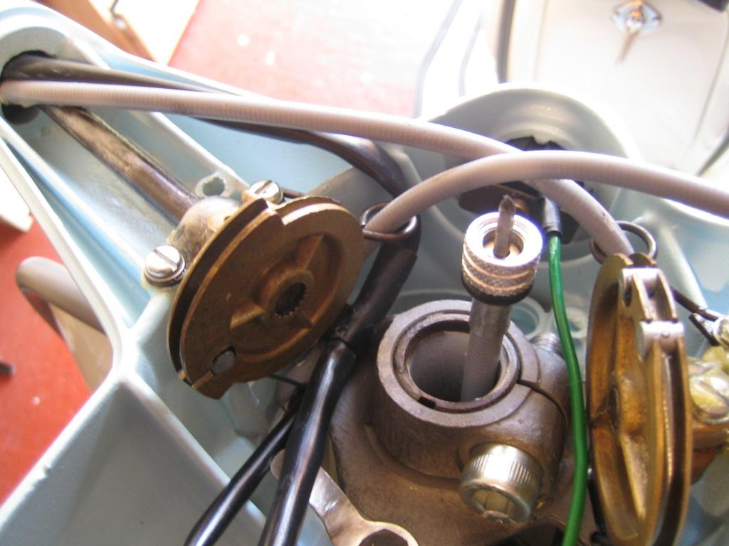 Lambretta Restoration: Adding lights switch, headset wiring, horn wiring