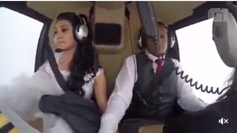 Câmera registrou queda de helicóptero que matou noiva, e vídeo é usado em investigação