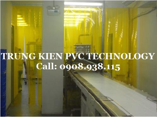 Màn Rèm nhựa PVC chống côn trùng Nhà máy REBISCO