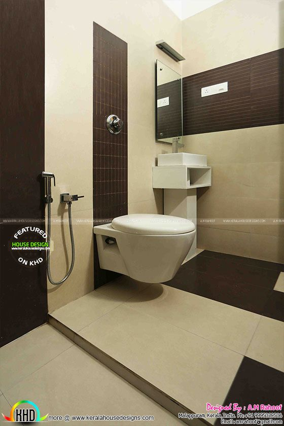 February 2016 kerala home design and floor plans for Bathroom ideas kerala