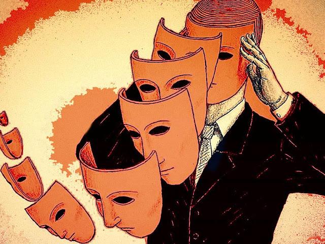 Đôi khi, không phải là một người đã thay đổi, chỉ là lớp mặt nạ của họ đã rơi xuống mà thôi.