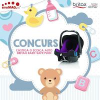 Castiga o scoica auto Britax Baby-Safe Plus