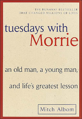 Tuesdays with Morrie by Mitch Albom – book cover