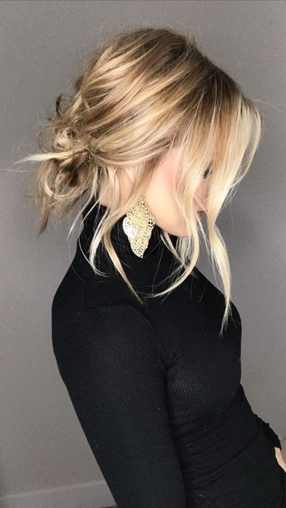 trendy hairstyle idea