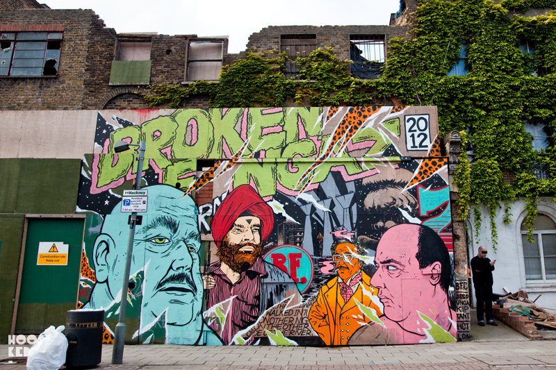 Broken Fingaz Crew London Street Art