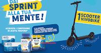 """Concorso Acutil Fosforo """"Dai Sprint alla tua mente"""" : vinci 63 monopattini elettrici Vivobike"""