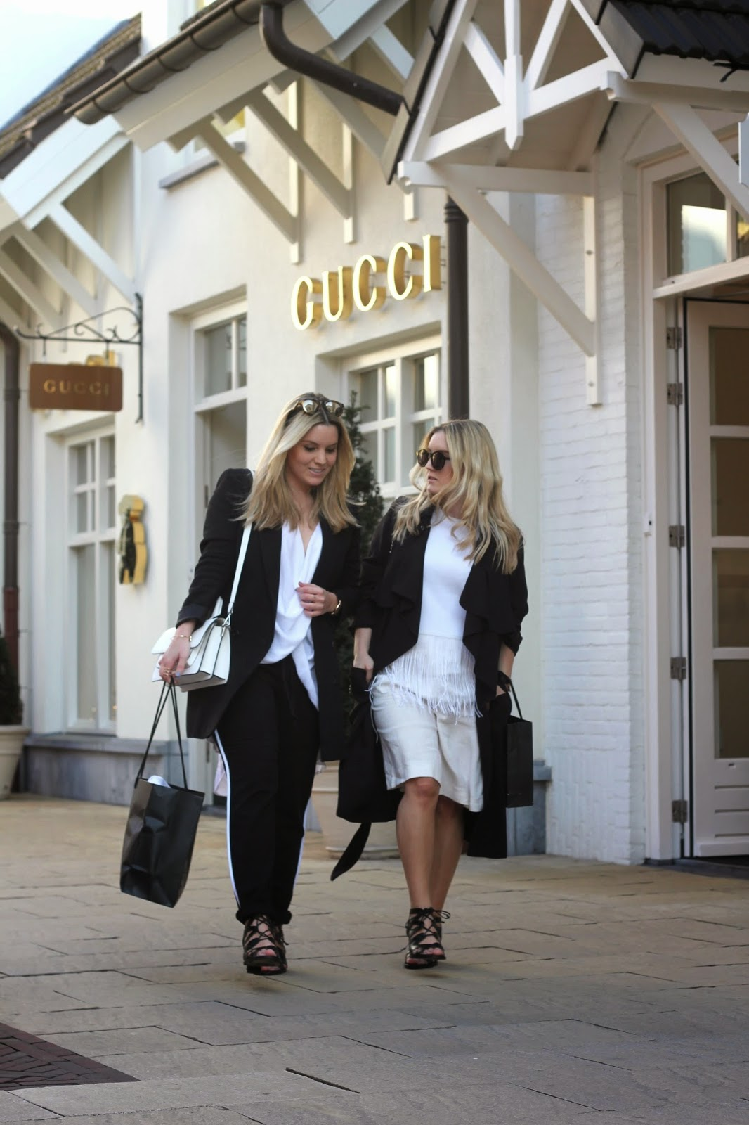 FashionTwinstinct: Shopping at Roermond Outlet.