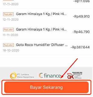Cara Membayar Shopee PayLater