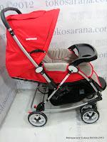 4 Kereta Bayi BabyDoes CH362 Crusader dengan 3 Layer Canopy
