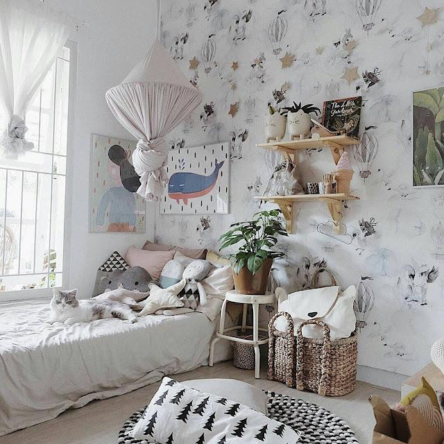 Wallpaper Kamar Tidur Ukuran 3x4 Minimalis