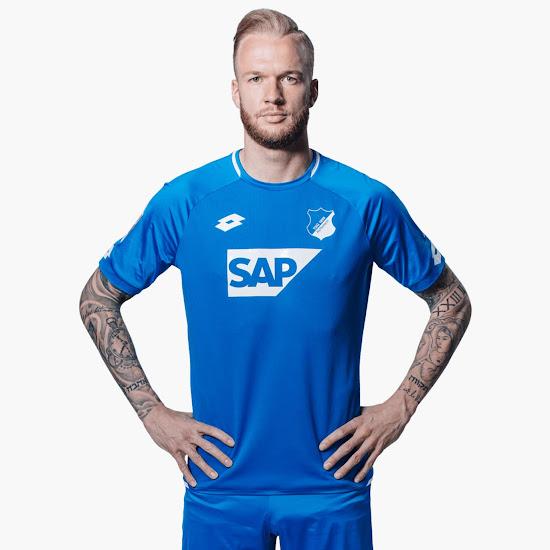 Lotto 1899 Hoffenheim Home 2018//2019 Camiseta de f/útbol Hombre