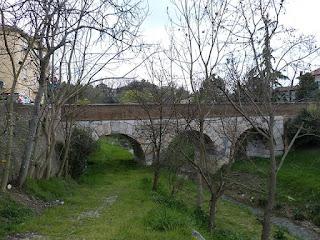 Ponte Consolare sul Fiume Rubicone