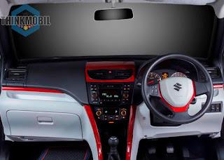 Modifikasi interior Suzuki Swift