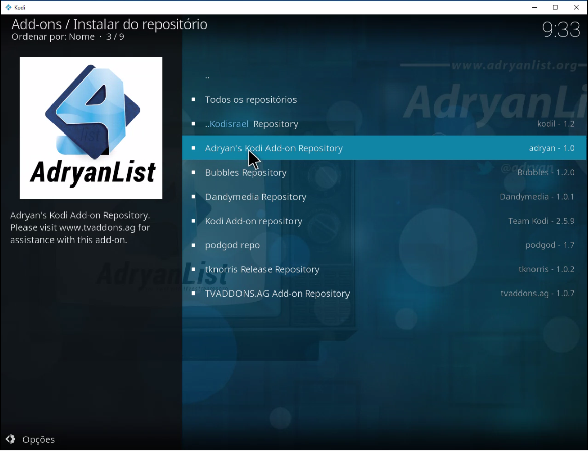 how to add a repository to kodi