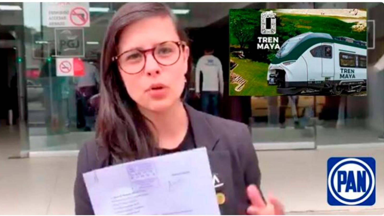Apoyar el Tren Maya también es racismo», dice diputada plurinominal del PAN