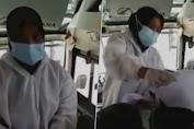 Viral Nakes Jual Surat Swab Rp90 Ribu di Dalam Bus Tanpa Tes: Ternyata Ini Alasan PPKM