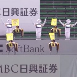Japanese-Cheers-Produced-Robot-Fans