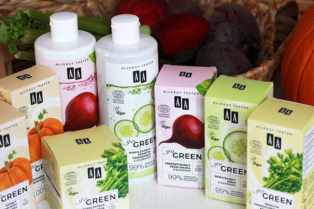 Pielęgnacja :: AA Go Green – Warzywna dieta dla wrażliwej i alergicznej skóry