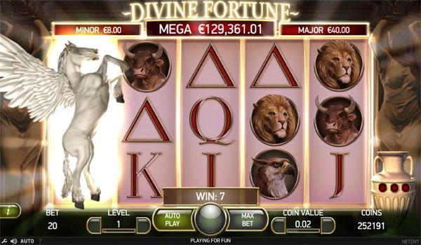 Main Gratis Slot Indonesia - Divine Fortune NetEnt