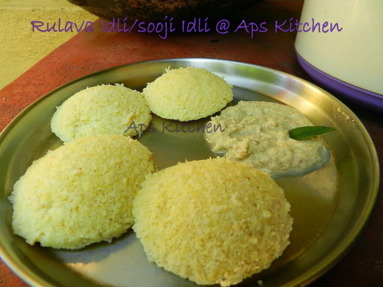Amma S Kitchen Rava Idli