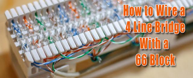 66 Phone Block Wiring Diagram