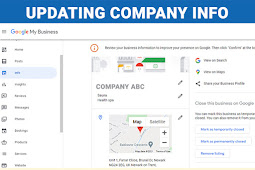 How to Update Company Profile on Google my Business