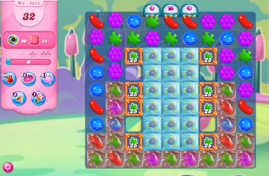 Candy Crush Saga level 9618