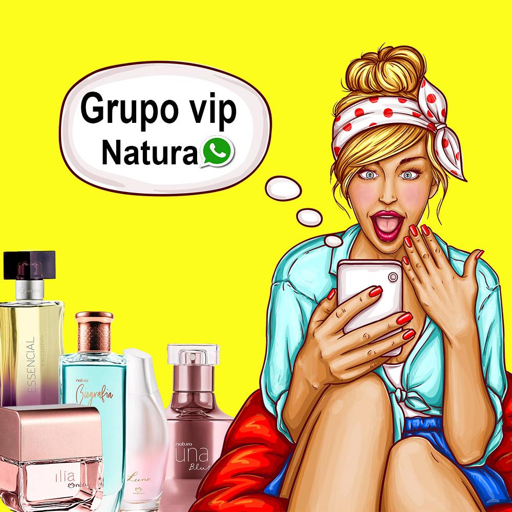 Natura - consultora Stella grupo whatsapp