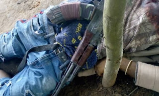 Notorious Kidnapper Gunned Down By Soldiers At Ohaji/ Egbema (Viewers Discretion)