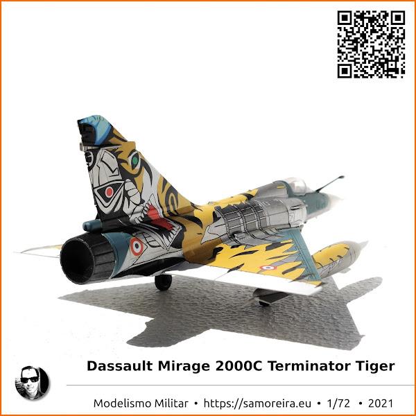 Dassault Mirage 2000C Terminator Tiger 2009 - Armee de L'air