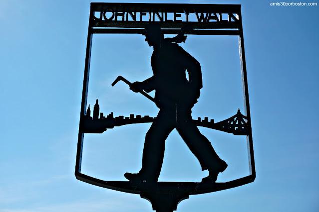 John Finley Walk en el Carl Schurz Park, Nueva York