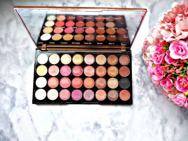 REVIEW: MAKEUP REVOLUTION FLAWLESS 4 EYESHADOW PALETTE