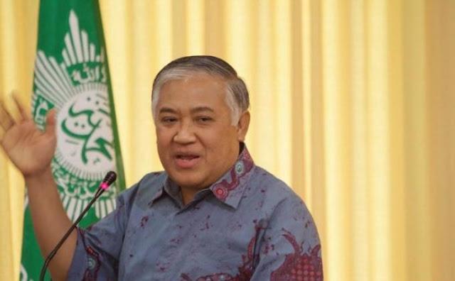 Din Syamsuddin Kecam Penindasan terhadap Muslim Uighur di China