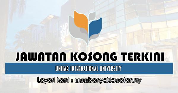 Jawatan Kosong Terkini 2019 di UNITAR International University
