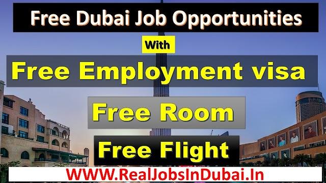 Dubai Many Vacancy Free Jobs Vacancies 2021