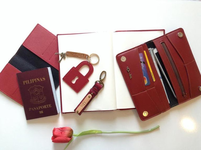 personalized passport holders by cha and mei | traveljams