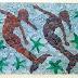 Ψηφιδωτά με θαλασσινή αλμύρα από τη Σοφία Σφακιανάκη- Ξενάκη