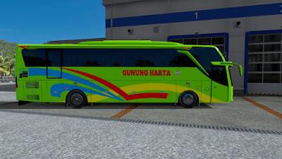 Livery Gunung Harta untuk Jetbus 3 Reborn v1 by Rindray