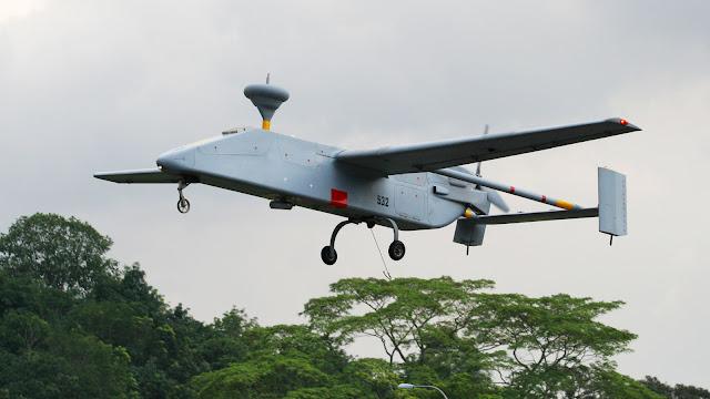 الطائرة دون طيار IAI Searcher   Azerbaijan - suicide drone Loitering munition UAV