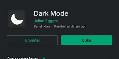 Cara Dark Mode Di Instagram Dan Playstore Untuk  Android Yang Belum Support