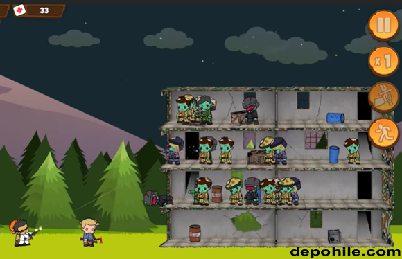 Zombie Forest HD Survival v1.36 Yükseltme Hileli Apk İndir 2021